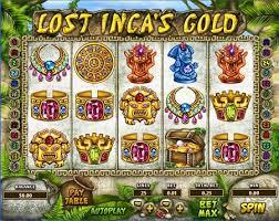 Lost Inca's Gold Casino Game